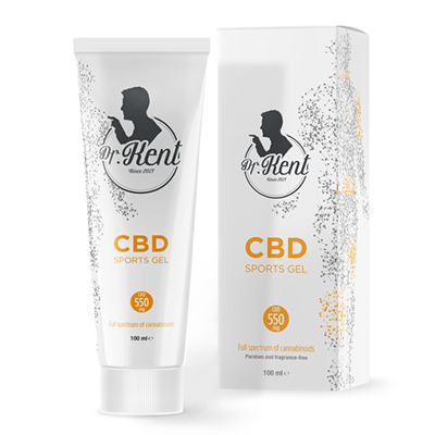 Dr. Kent SPORTS GEL WITH CBD 550mg CBD 100ml