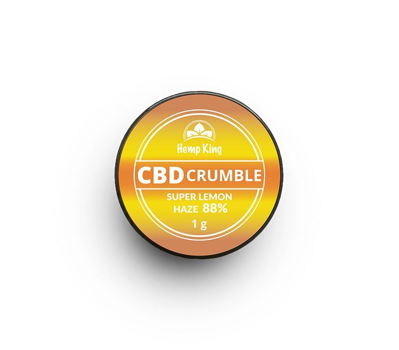 cbd wax crumble 2