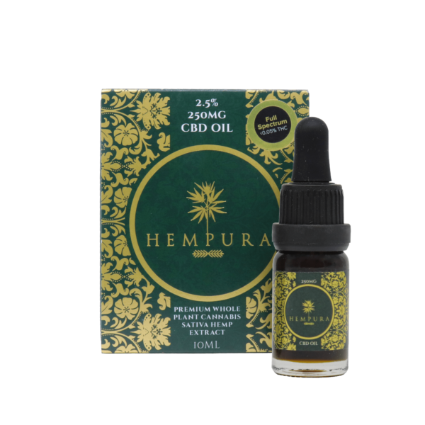 2.5 250MG CBD OIL 1