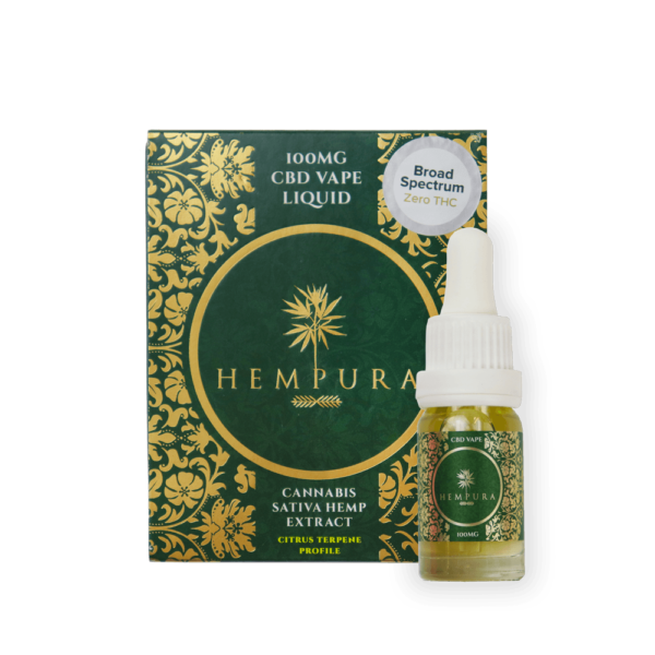 hempura 100MG Vape Liquid broad Spec