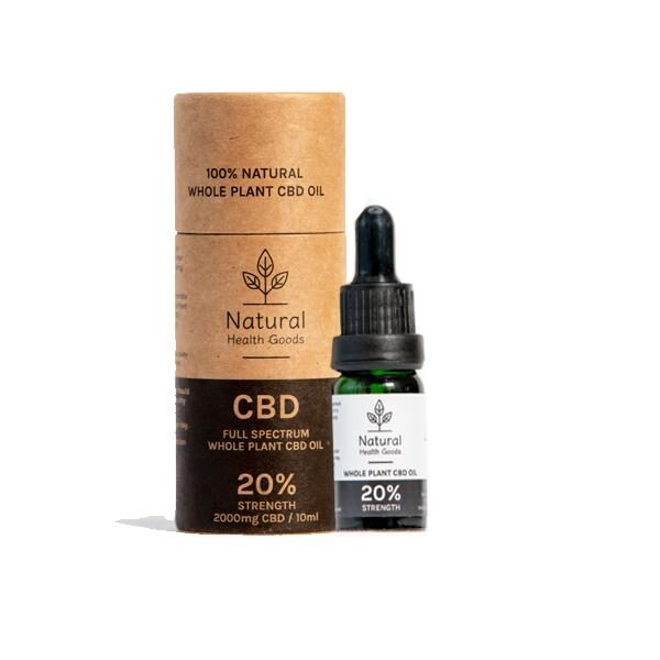 Full Spectrum 2000mg CBD Oil 10% Natural Health Goods