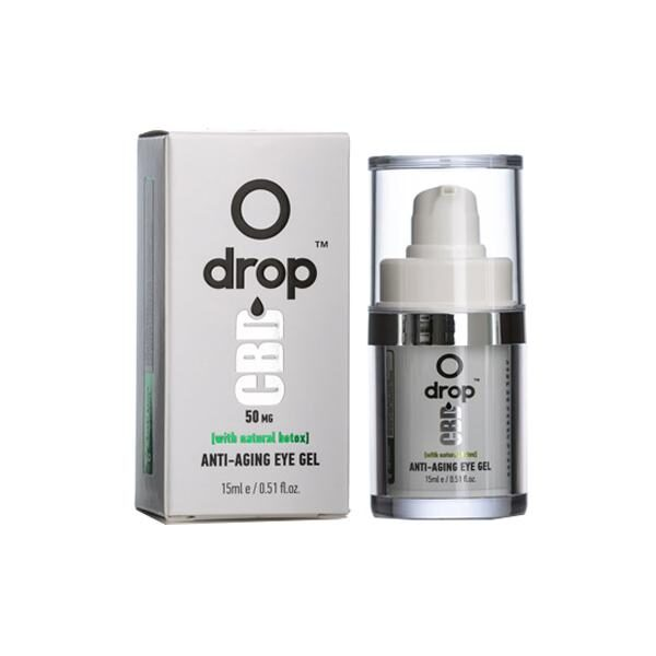 CBD Anti-Aging Eye Gel - 50mg - By Drop
