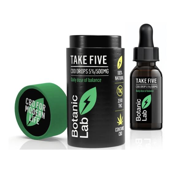 CBD OIL 500MG 5% 10ML - Take Five