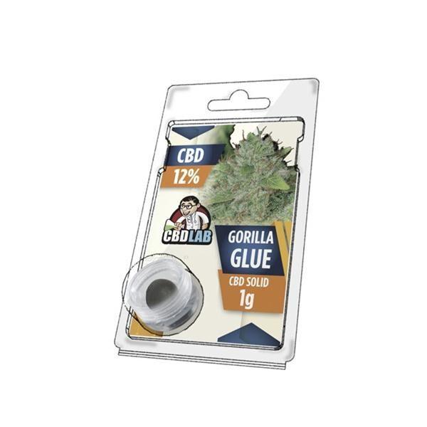 Hash CBD Gorilla Glue 12% - CBD LAB 1g