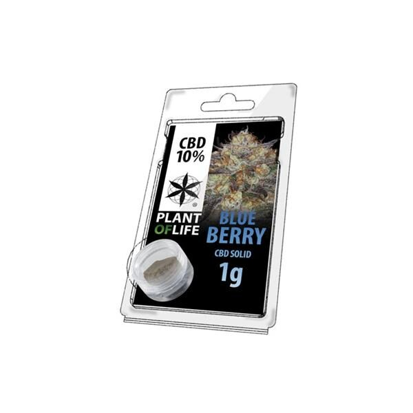 Blue Berry Hash CBD 10% - 1g