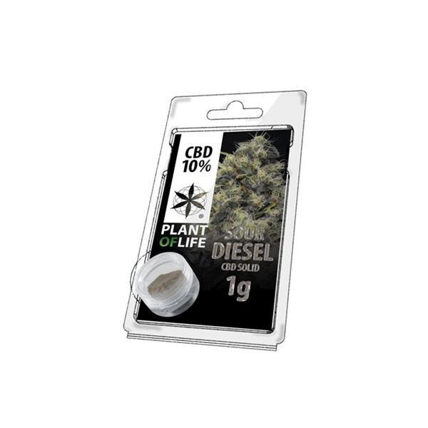 Sour Diesel Hash CBD - 10% - 1g