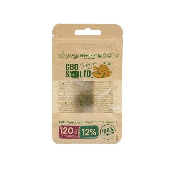 Cantaloupe CBD Hash 12% - Euphoria CBD 1g