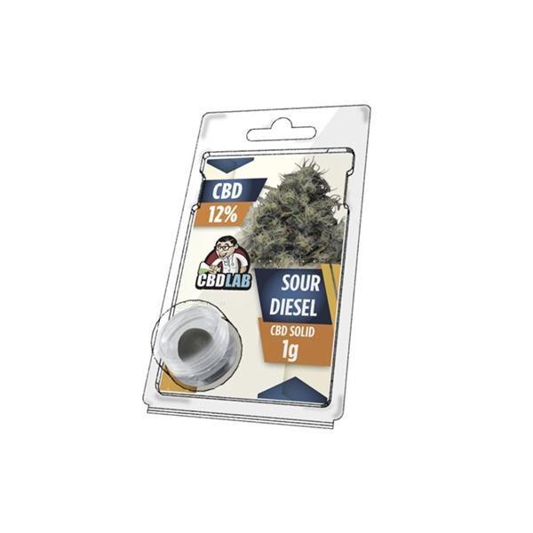 CBD LAB Hash Sour Diesel 12% -1g