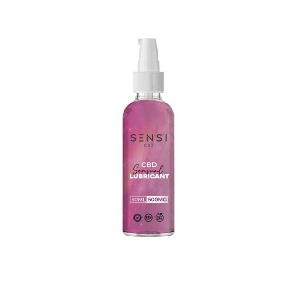 CBD Sensual Lubricant 500mg - 50ml - By Sensi