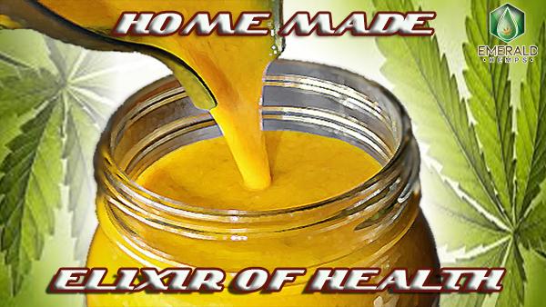 home made cbd elixir of health
